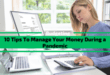 10 Tips To Manage Your Money During COVID19