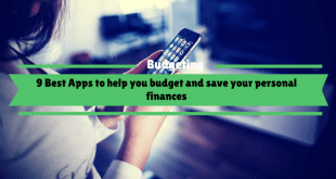 9 Best Apps to help you budget and save your personal finances