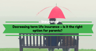 Decreasing term life insurance