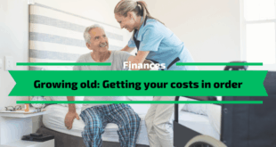 Growing old - Getting your costs in order