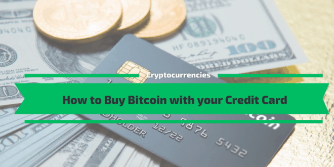 How to Buy Bitcoin with your Credit Card