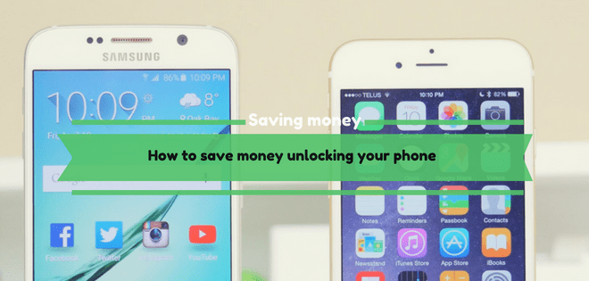 How to save money unlocking your phone