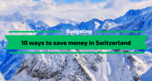 Ways to Save money in Switzerland