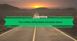 The Most Affordable Vacation Ideas